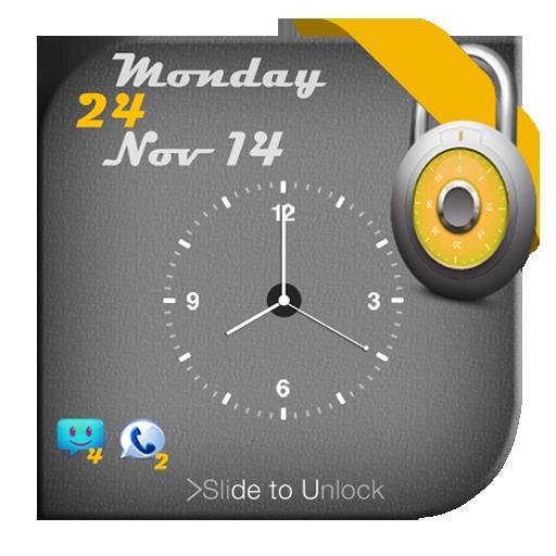 锁屏模拟时钟 生活 App LOGO-APP開箱王