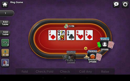 Yahoo poker texas holdem online