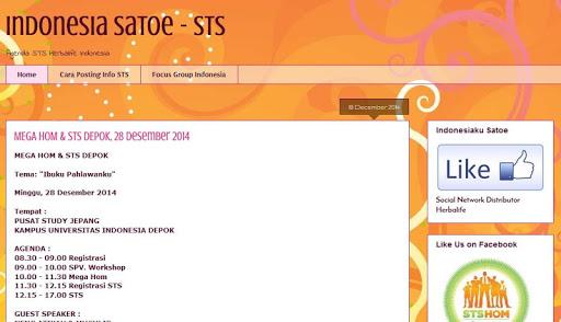 STS Indonesia Satoe V2