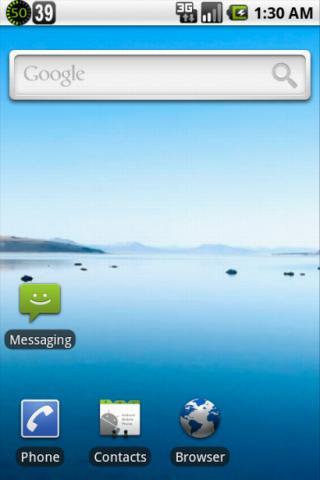 SecondStatus(second clock)- screenshot