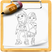 How To Draw Subway Surfers