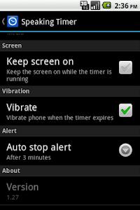 Speaking Timer v1.31