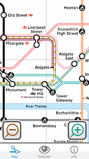Colourblind Tube Map - screenshot thumbnail