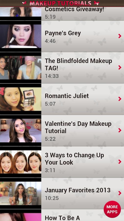 Makeup Tutorials & Beauty Tips - screenshot