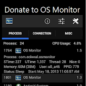Donate to OS Monitor
