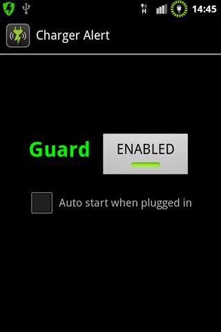 Charger Alert- screenshot