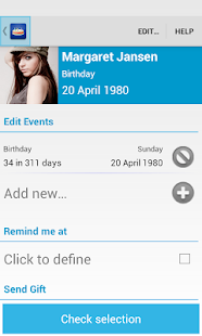 Birthdays - screenshot thumbnail