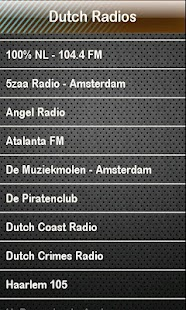 Dutch Radio Dutch Radios - screenshot thumbnail