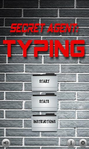 Secret Agent: Typing Game