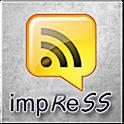 impress–Google Reader client logo