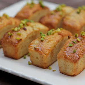 Honey Cakes with Pistachios