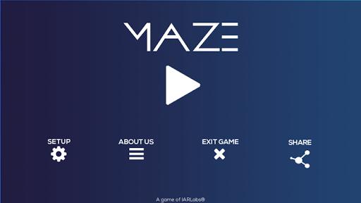 Augmented Reality Maze