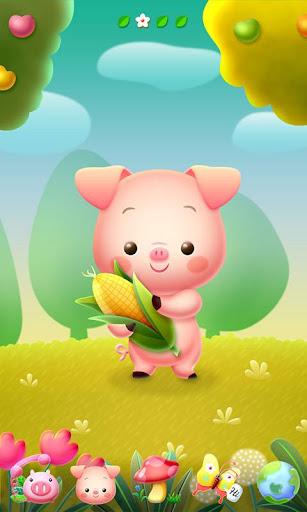 Piggy GO Launcher Theme