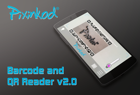 Pixinkod and QR Code Reader – Vignette de la capture d'écran