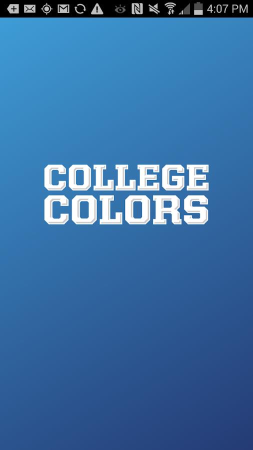 College Colors- screenshot