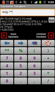 Scientific Calculator Exp- screenshot thumbnail