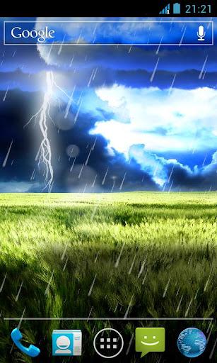 風暴動態桌布