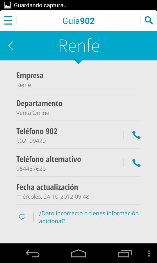 Guía 902 - screenshot