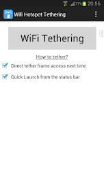 WiFi Tethering /WiFi HotSpot Screenshot 1