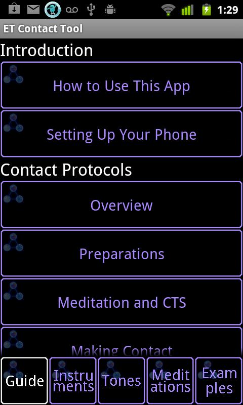 ET Contact Tool- screenshot