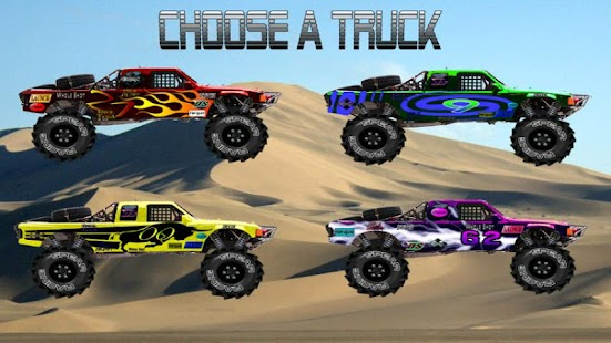 Baja Trophy Truck Racing