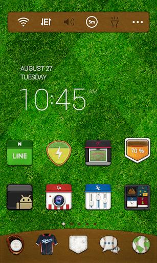 免費下載個人化APP|2 Outs in the 9th Dodol Theme app開箱文|APP開箱王