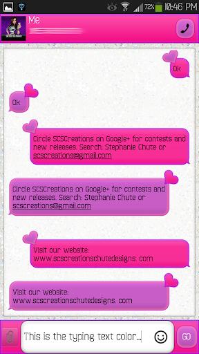 GO SMS - Glam Girl