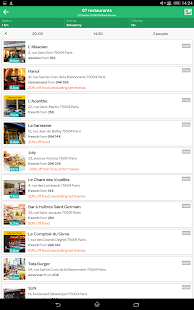 TheFork - Restaurants booking - screenshot thumbnail