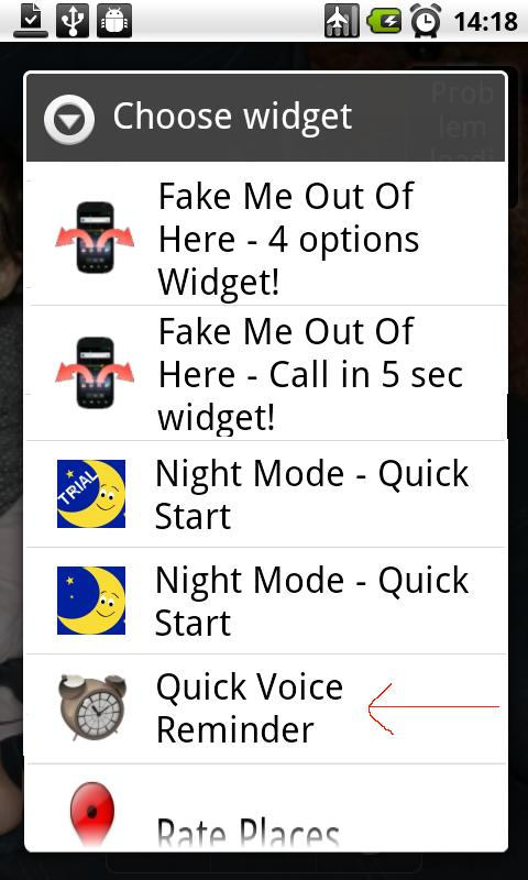 Quick Voice Reminder Lite- screenshot