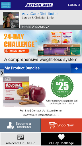 Advocare On The Go