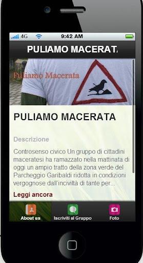 PULIAMO MACERATA