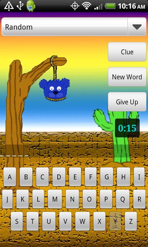 Hangman!! Jr.- screenshot