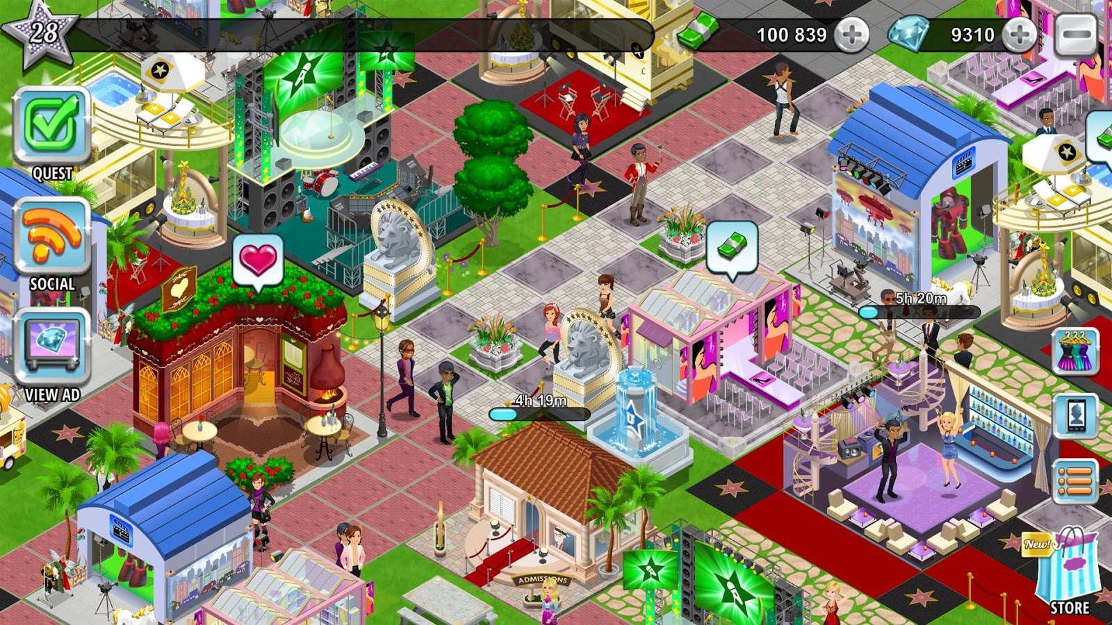 dating on hollywood u app Hollywood u: rising stars is a game released by pixelberry studios, and it focuses on the fictional hollywood university,  the fandom app.