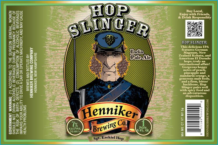 Logo of Henniker Hop Slinger IPA