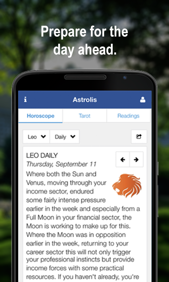 Horoscopes & Tarot- screenshot