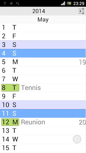 The Calendar Pro 2.9 screenshots 4