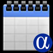 AlphaAgent Calendar Free