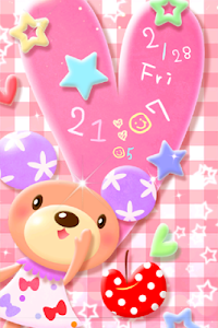 Bear Pastel.LWP screenshot 2
