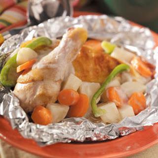 Campfire Chicken Stew.