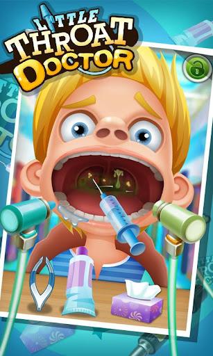 小咽喉科医師 - 子供のゲーム