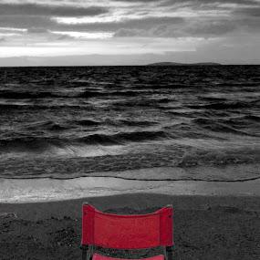 end of season by Jorgos Kleidas - Landscapes Beaches ( selective color, pwc )