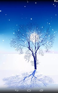 Snow landscape screenshot