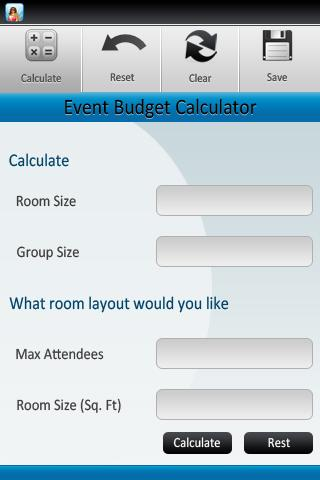 Event Planning Tools - screenshot
