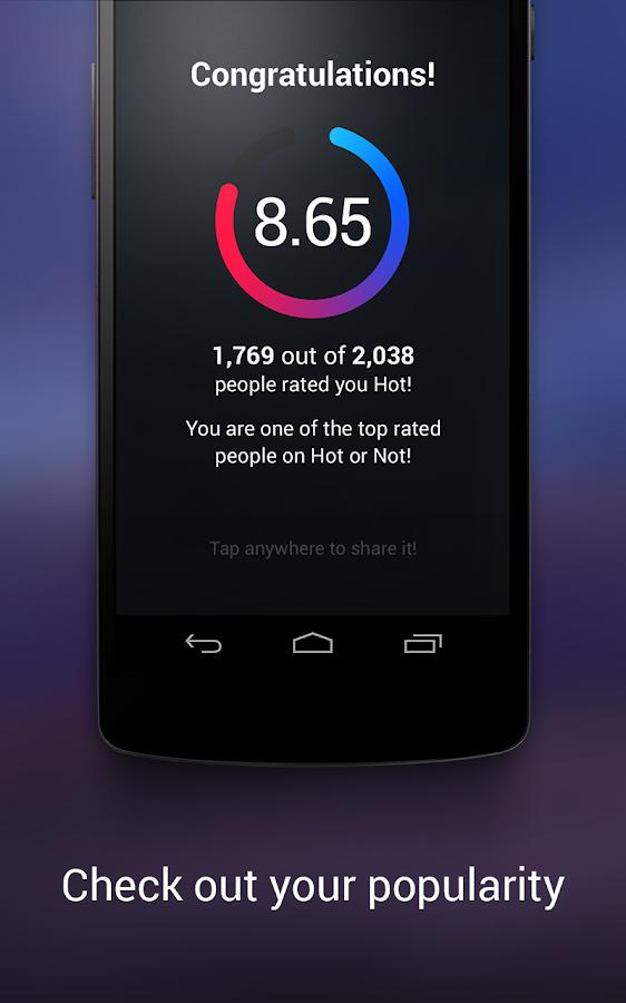 Hot or Not - screenshot