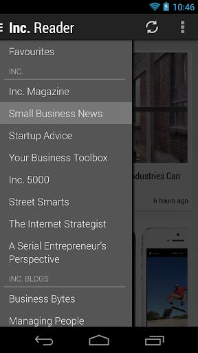 Inc. Magazine Reader