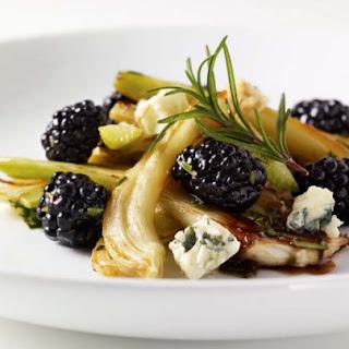 Roasted Fennel Salad with Blackberries
