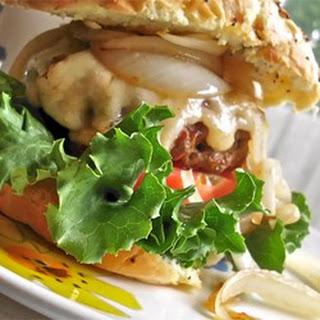 Kerry's Asiago Cheese Hamburger