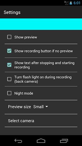 spy secret video camera 2.0 screenshots 2