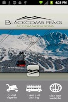 Screenshot of Blackcomb Peaks Accommodations