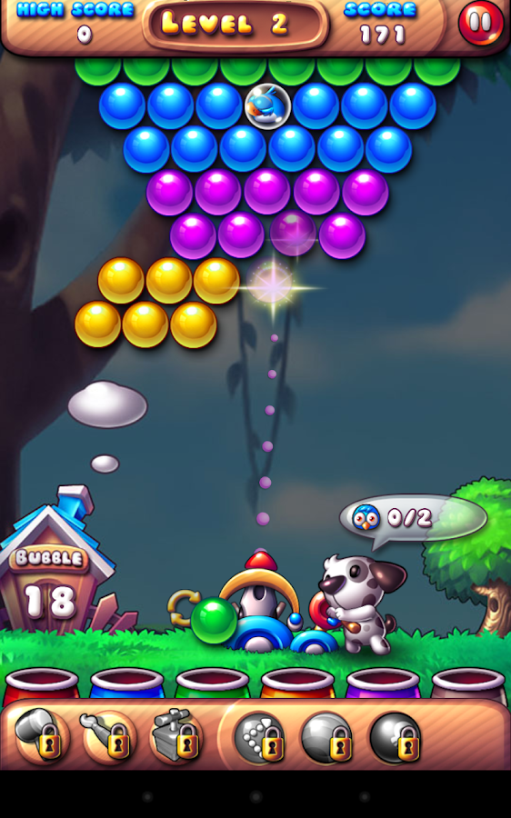 Bubble Bird Rescue- screenshot